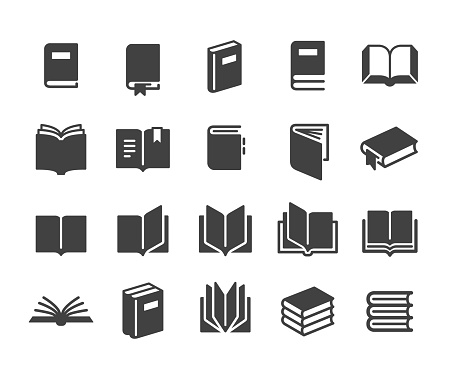 Book Icons - Classic Series