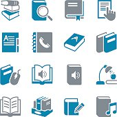 Book Icons - Color