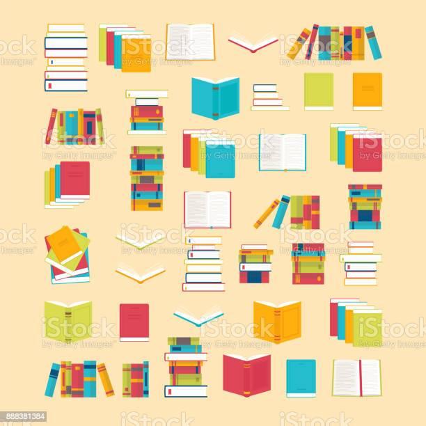 Book icons set in flat style for your design school books background vector id888381384?b=1&k=6&m=888381384&s=612x612&h=fqdtydskdkgmekzthhkzgiysgabjxpw6mw6 c8q4908=