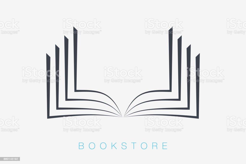 Iconos del libro. Vector de señal para su empresa - ilustración de arte vectorial