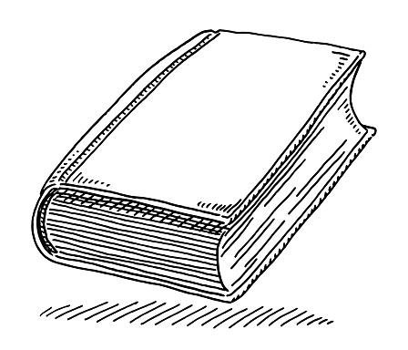 Book Knowledge Symbol Drawing