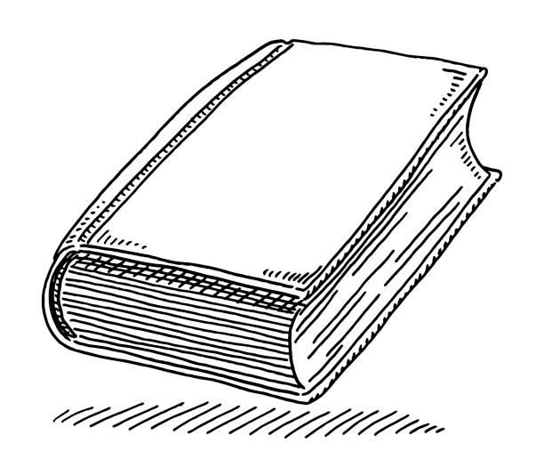 Book Knowledge Symbol Drawing vector art illustration