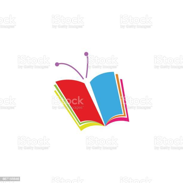 Book logo in the form of butterfly a symbol education or school vector id667155646?b=1&k=6&m=667155646&s=612x612&h=eche06g1iikc5wemroeys2gy9mk5nlkt3oprkho8z50=