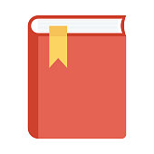 book mark Flat Vector Icons