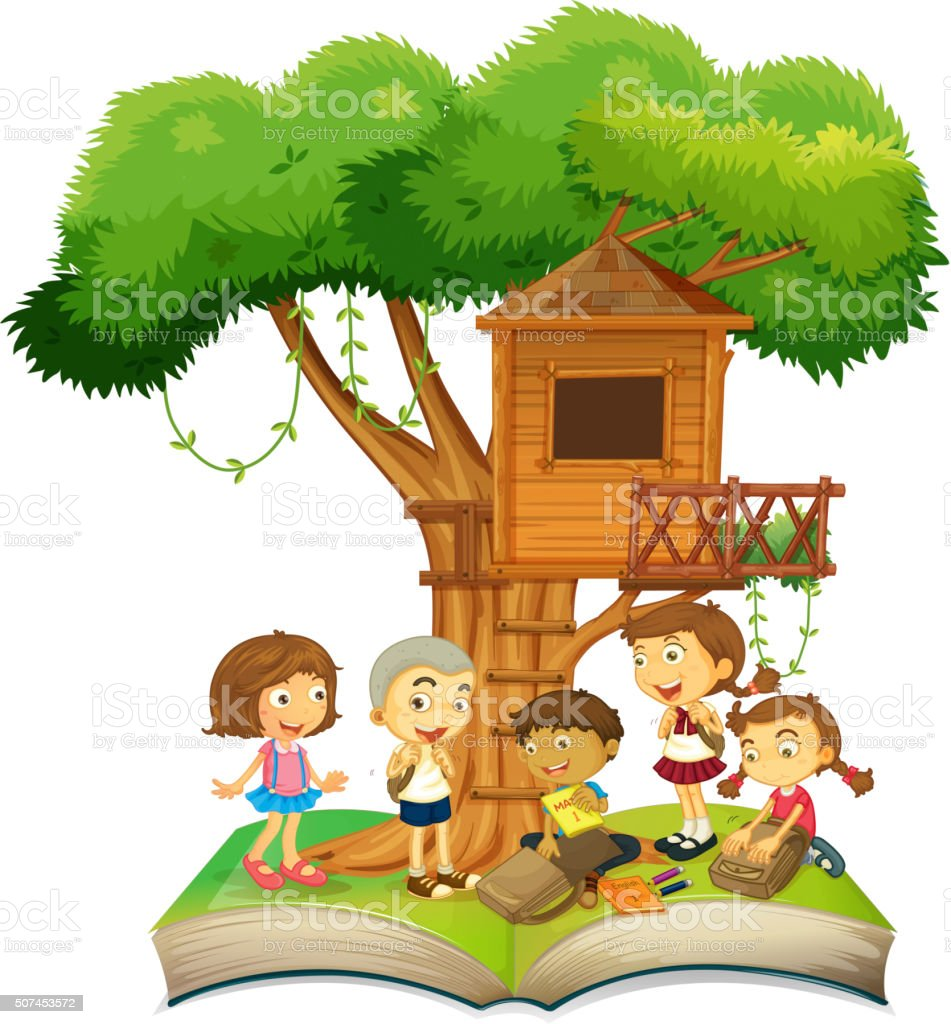 royalty free treehouse clip art vector images illustrations istock rh istockphoto com treehouse clipart free Tree House Sketch