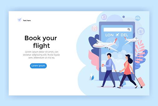 Book online your flight