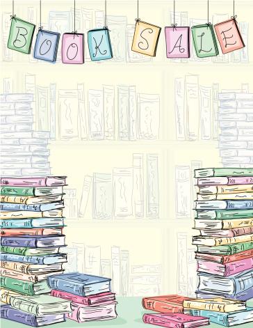 Book Sale Background