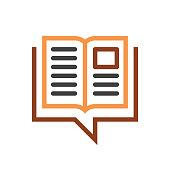 istock book speech bubble line icon 1132591255