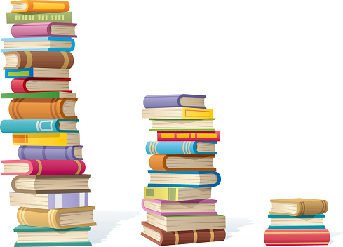 Book Stacks clipart