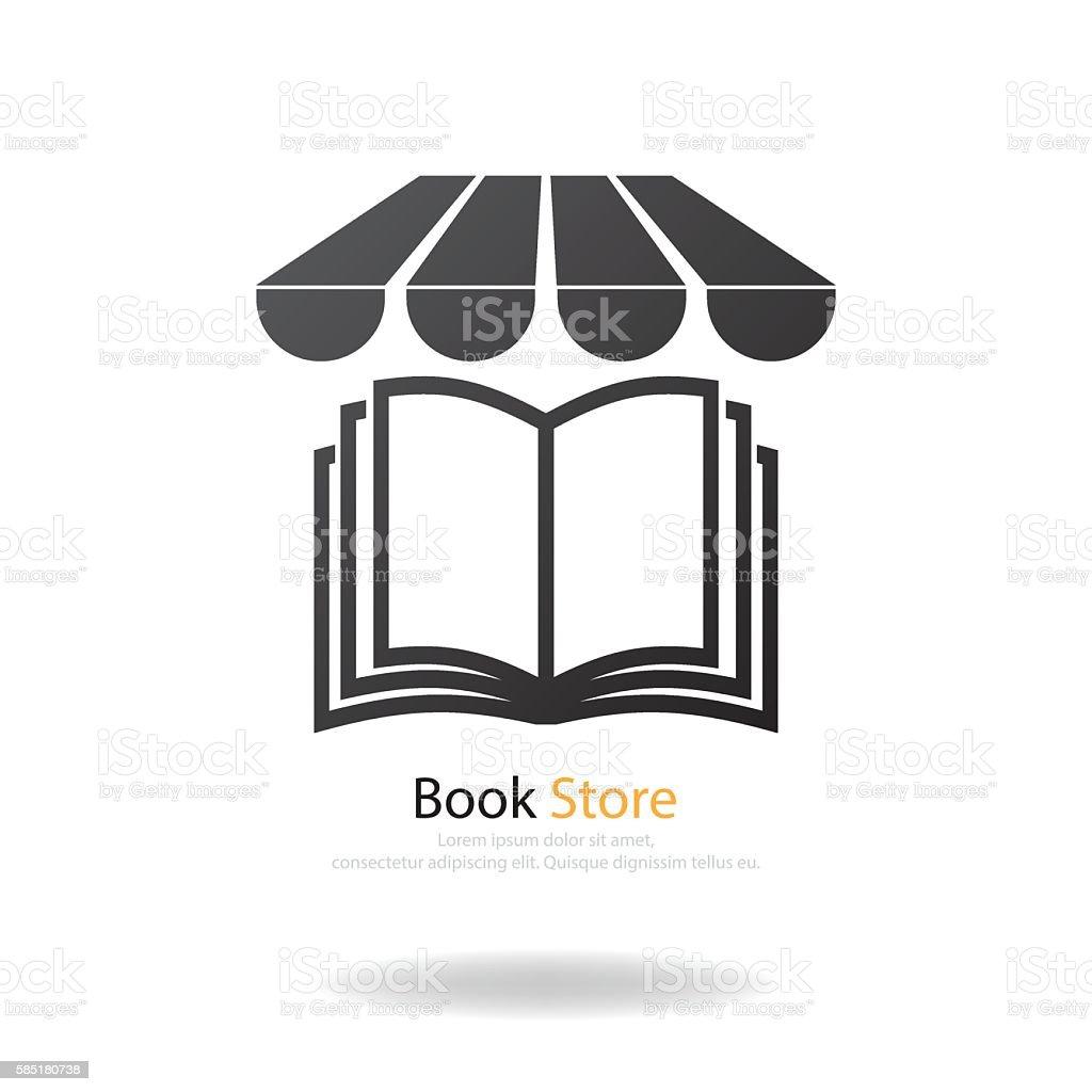 book store vector art illustration