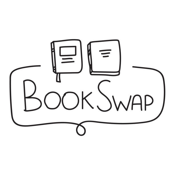 Book Donation Illustrations, Royalty-Free Vector Graphics