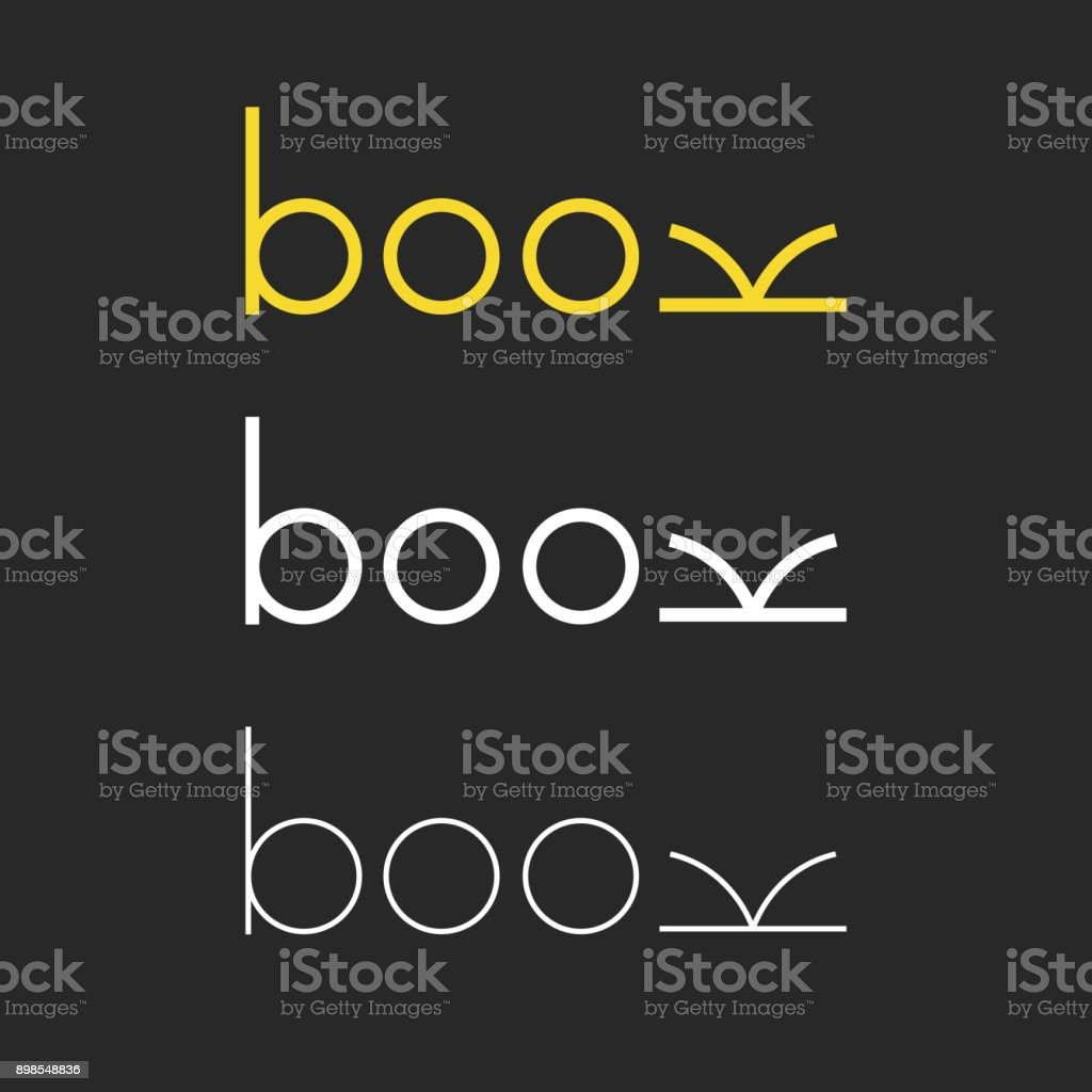 Book - Typography Series royalty-free stock vector art