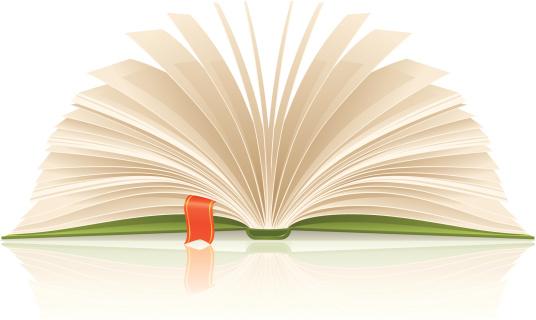 Book With Bookmark-vektorgrafik och fler bilder på Bok - Tryckt media