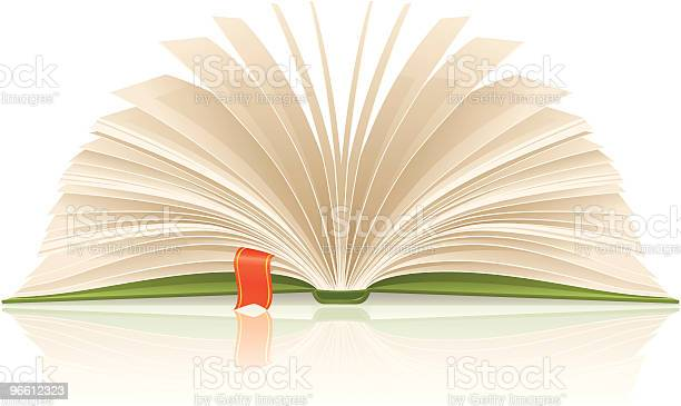 Book With Bookmark Stock Illustration - Download Image Now