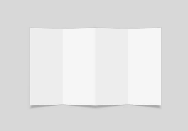 booklet copy - składany stan stock illustrations