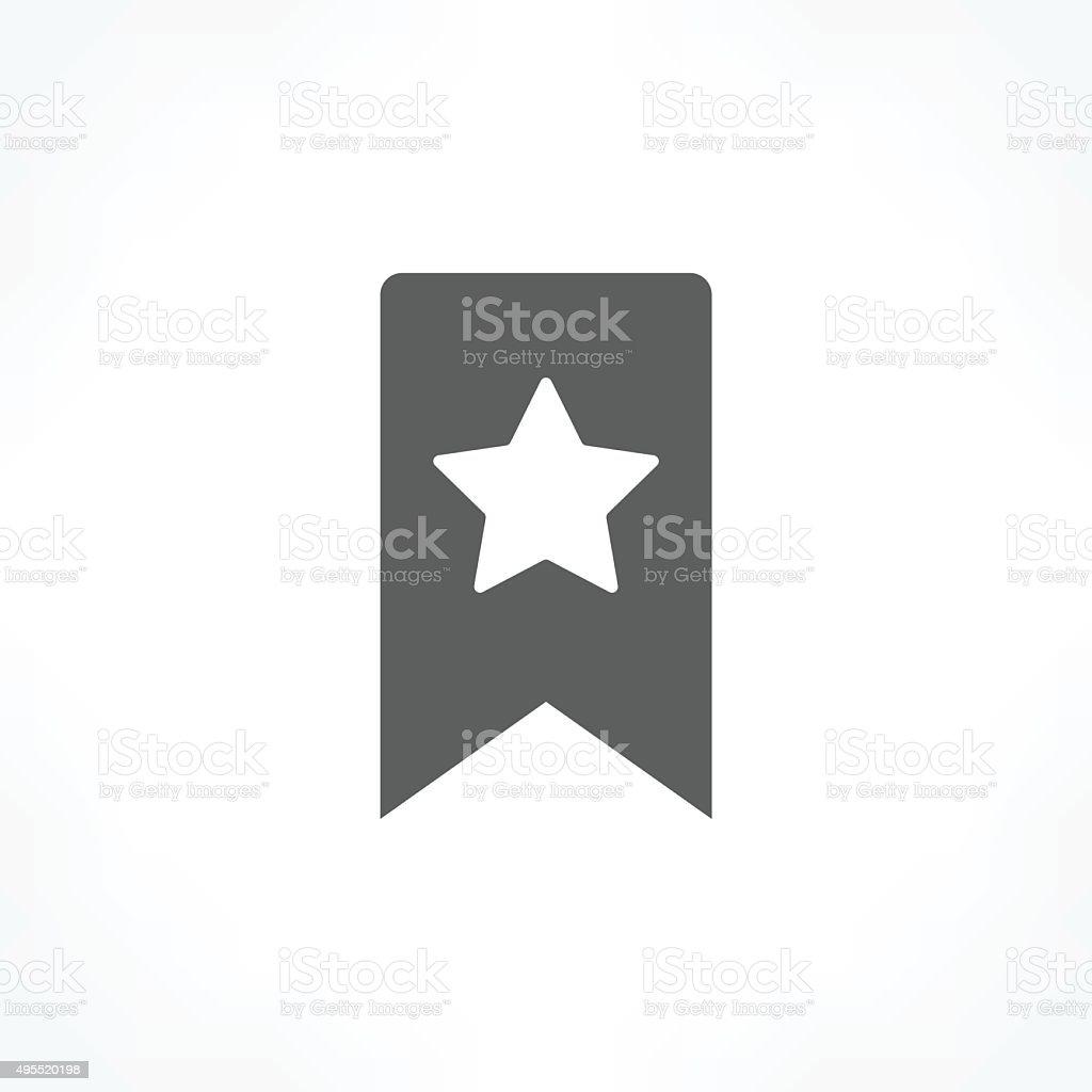 bookmark icon vector art illustration