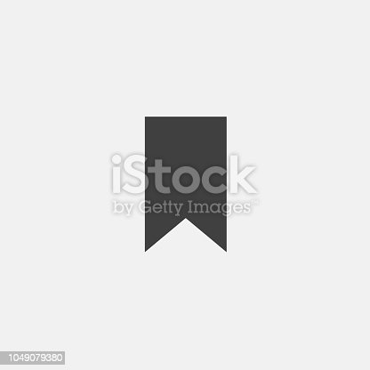 istock bookmark icon vector 1049079380