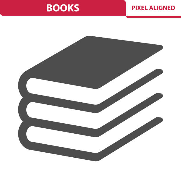 stockillustraties, clipart, cartoons en iconen met boeken-pictogram - boek