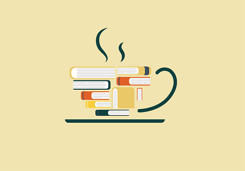 Books is cup of Coffee
