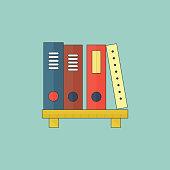 Bookshelf, E-Learning, Furniture, Internet, Shelf