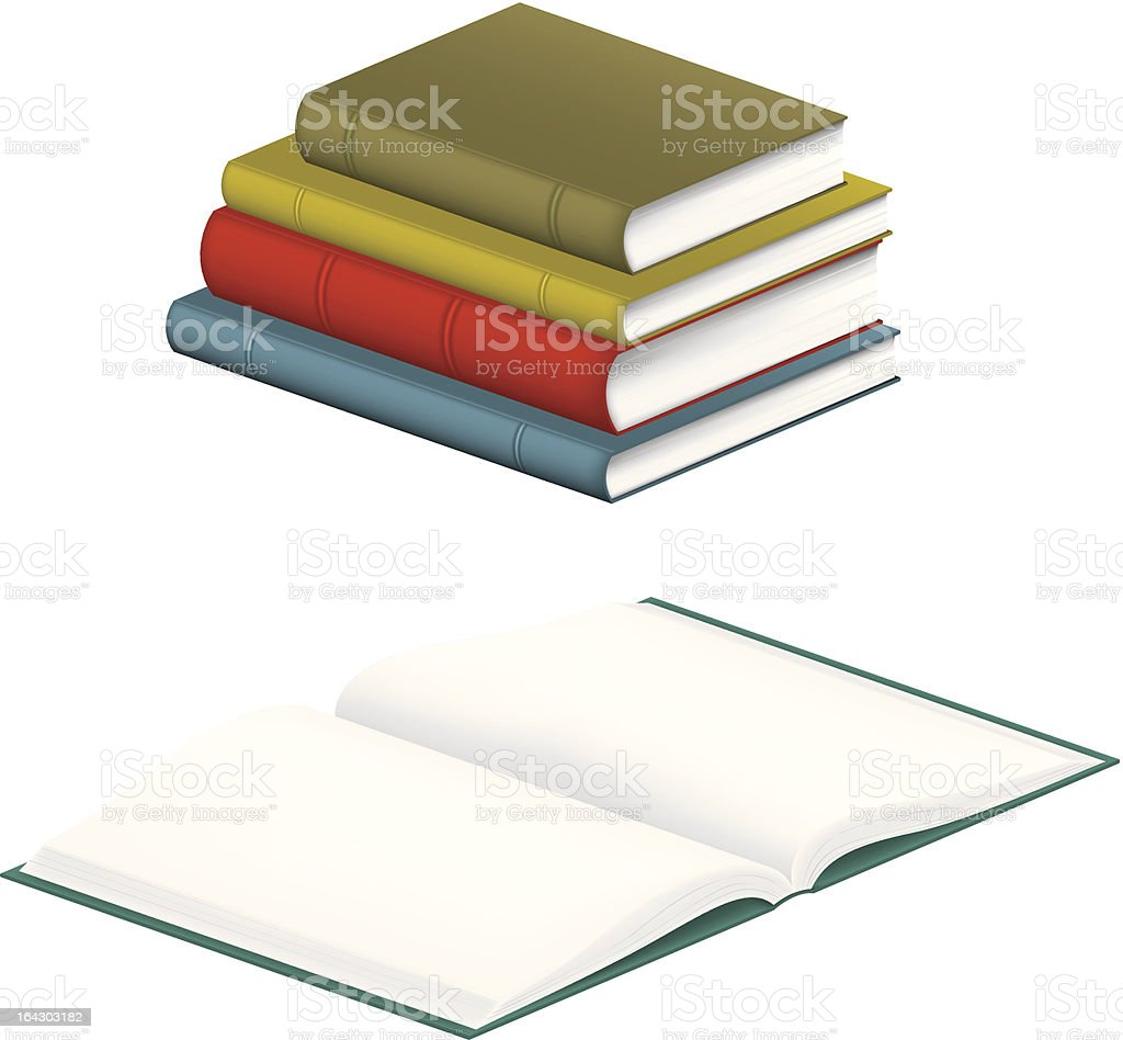 Books royalty-free books stock vector art & more images of accounting ledger