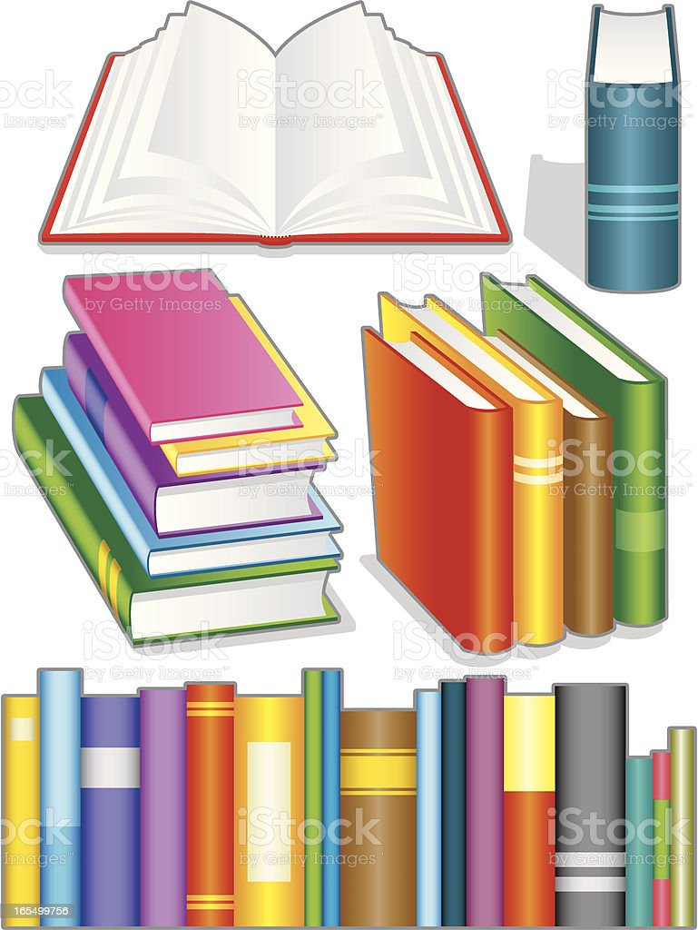 Books royalty-free books stock vector art & more images of arts culture and entertainment
