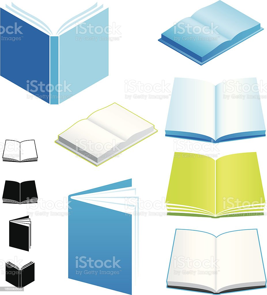 Books royalty-free books stock vector art & more images of archives