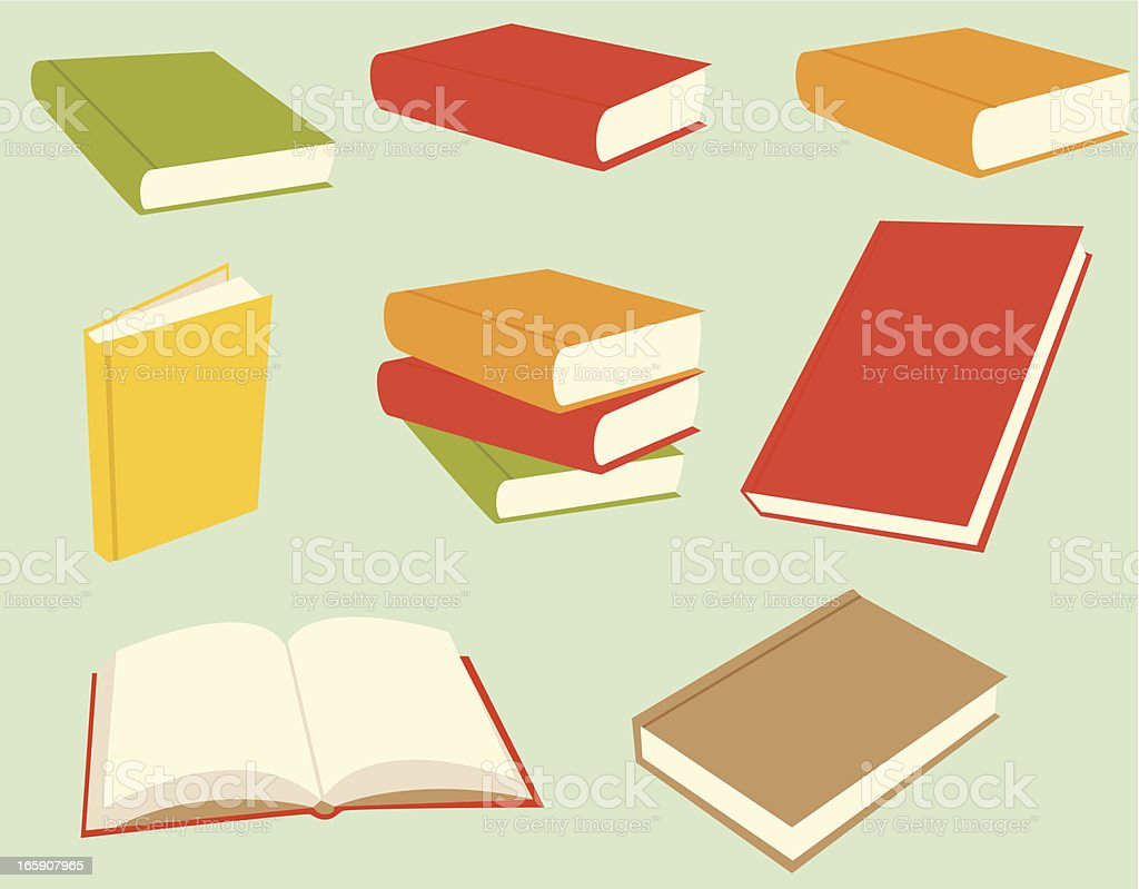 Bücher – Vektorgrafik