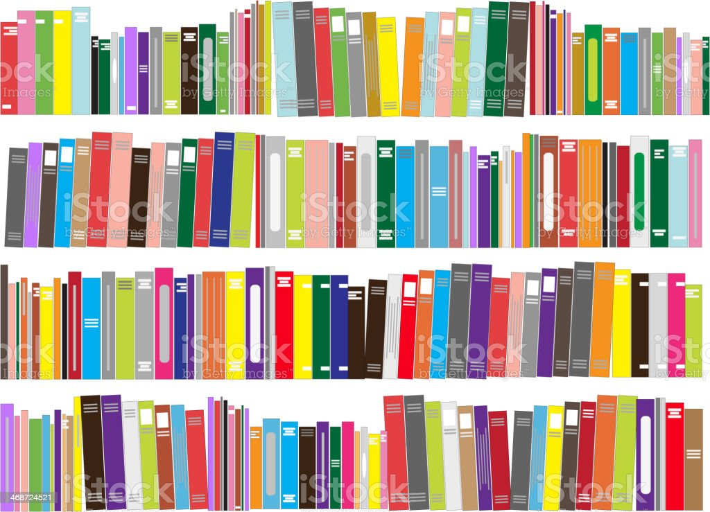 Books - vector illustration vector art illustration