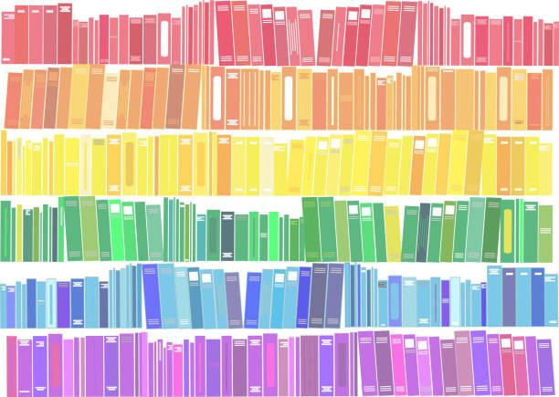 Books - vector illustration. Books - vector illustration. book backgrounds stock illustrations