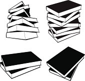 Books - vector
