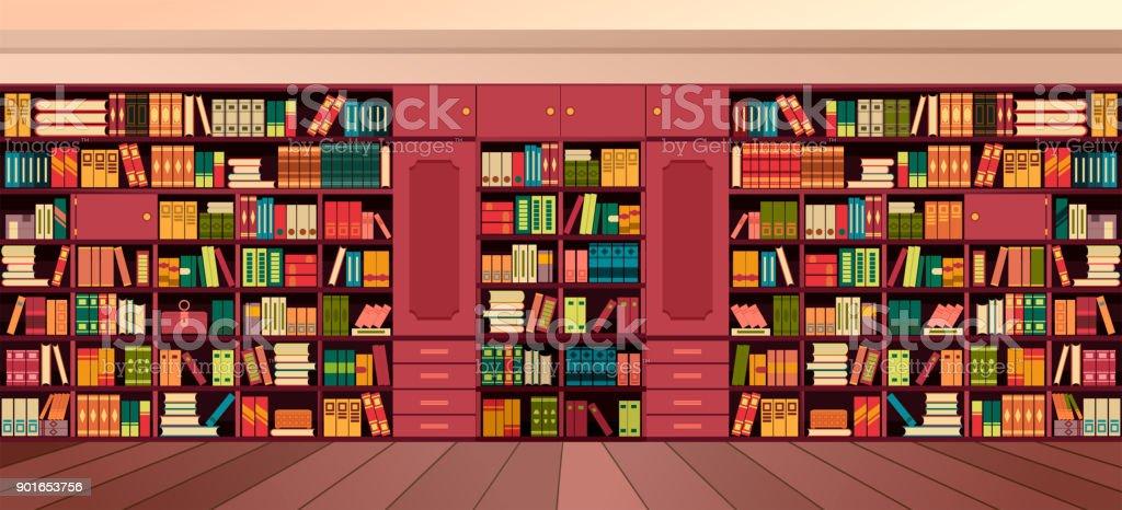 moderne treppe bucherregal, bücherregal bibliothek design interieur buch fenster vektor sessel, Design ideen
