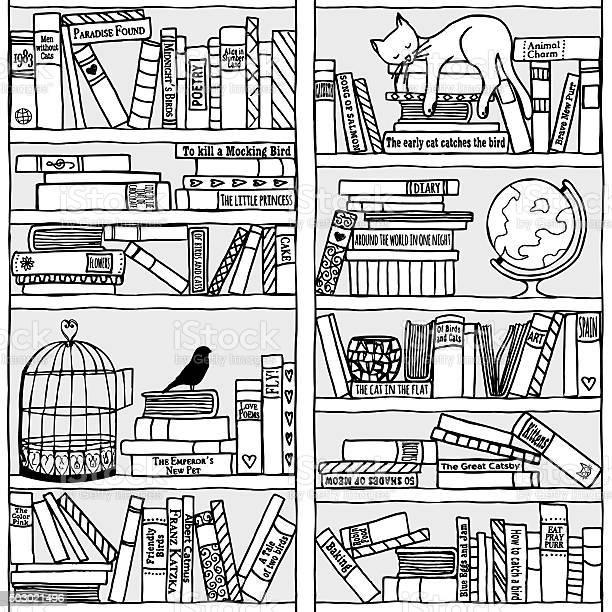 Bookshelf with sleeping cat vector id503021496?b=1&k=6&m=503021496&s=612x612&h=hmp 5utl2hcghl0 dkg1gg6zjcd9nffvf0d krj yzc=