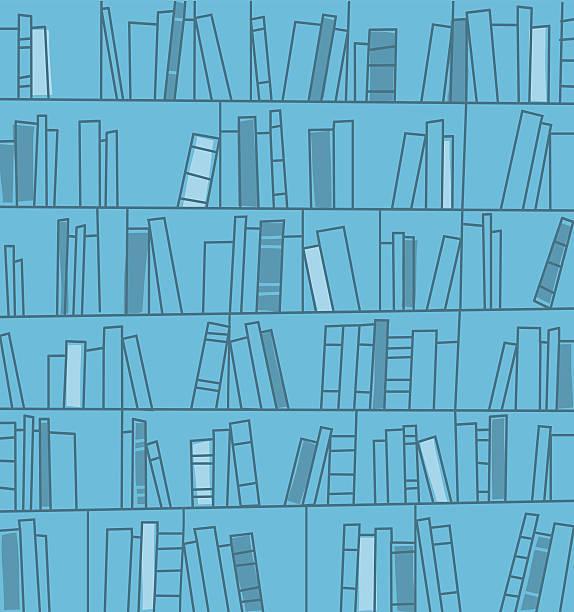stockillustraties, clipart, cartoons en iconen met bookshelves background. vector illustration. - boekenkast