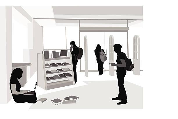 bookworm - gymnasium stock-grafiken, -clipart, -cartoons und -symbole