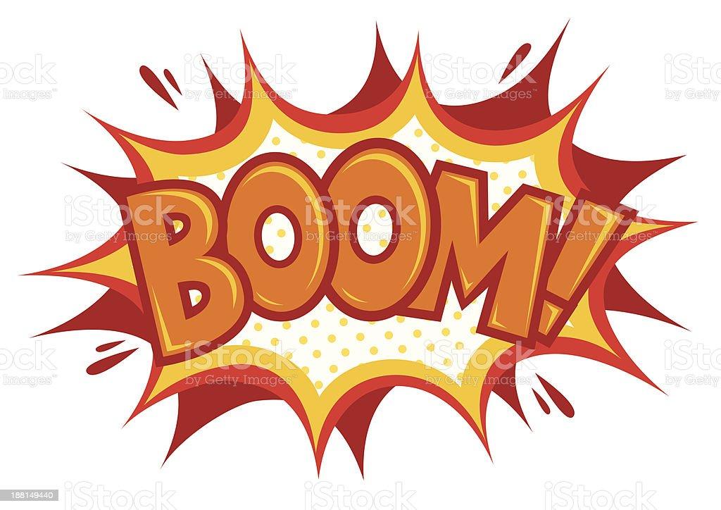 Boom Effect royalty-free stock vector art