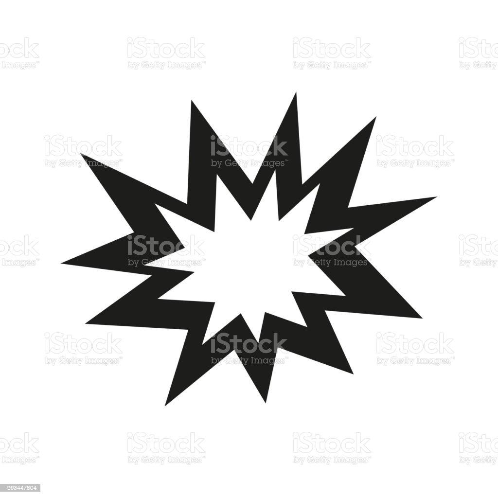 Icône de la flèche. Design plat - clipart vectoriel de Abstrait libre de droits