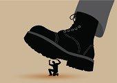 Boot Crushing