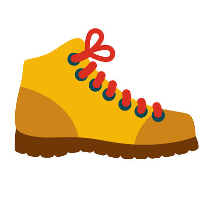 Boot Icon on Transparent Background