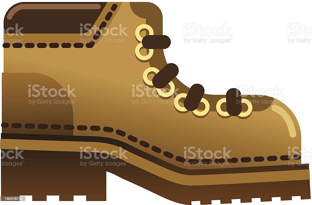 boot royalty-free stock vector art