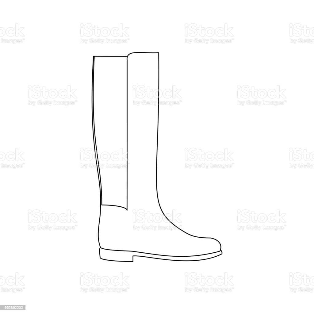 Boots shoes illustration - Royalty-free Adult stock vector