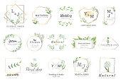 border flower for wedding,banner,badge,printing,product,package.vector illustration