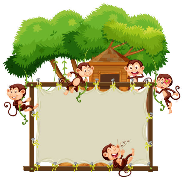 Royalty Free Treehouse Build Clip Art Vector Images