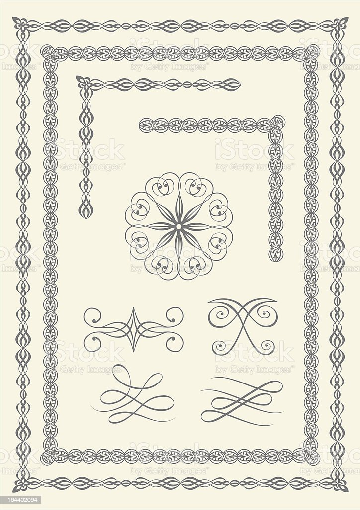 Borders and emblems royalty-free borders and emblems stock vector art & more images of angle