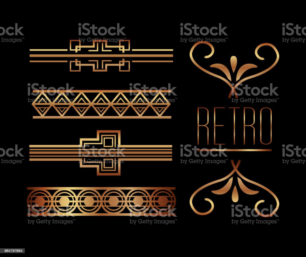 borders ornate gold decoration royalty-free borders ornate gold decoration stock vector art & more images of antique