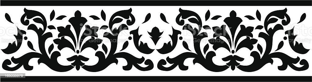 Borders Series royalty-free stock vector art