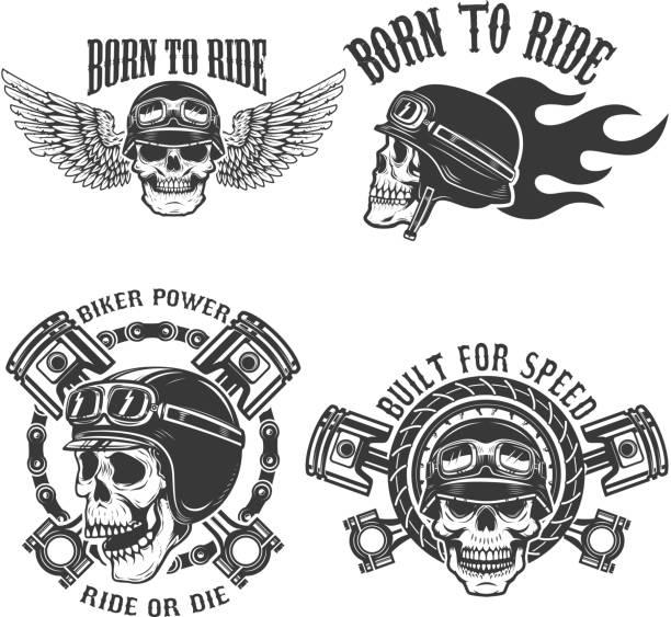 Gang Illustrations, Royalty-Free Vector Graphics & Clip ... |Clipart Biker Gang Sign
