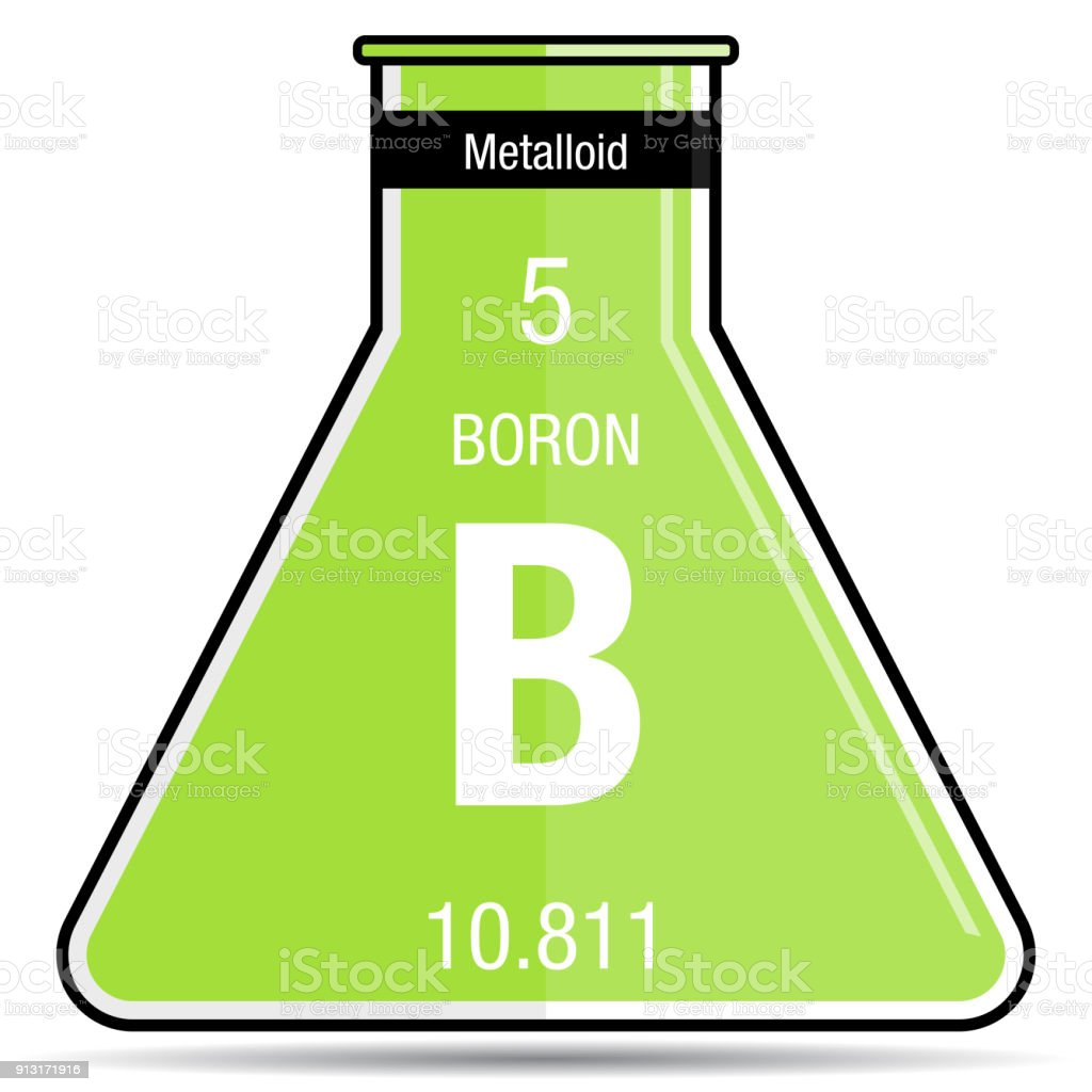Boron symbol on chemical flask element number 5 of the periodic boron symbol on chemical flask element number 5 of the periodic table of the elements urtaz Image collections