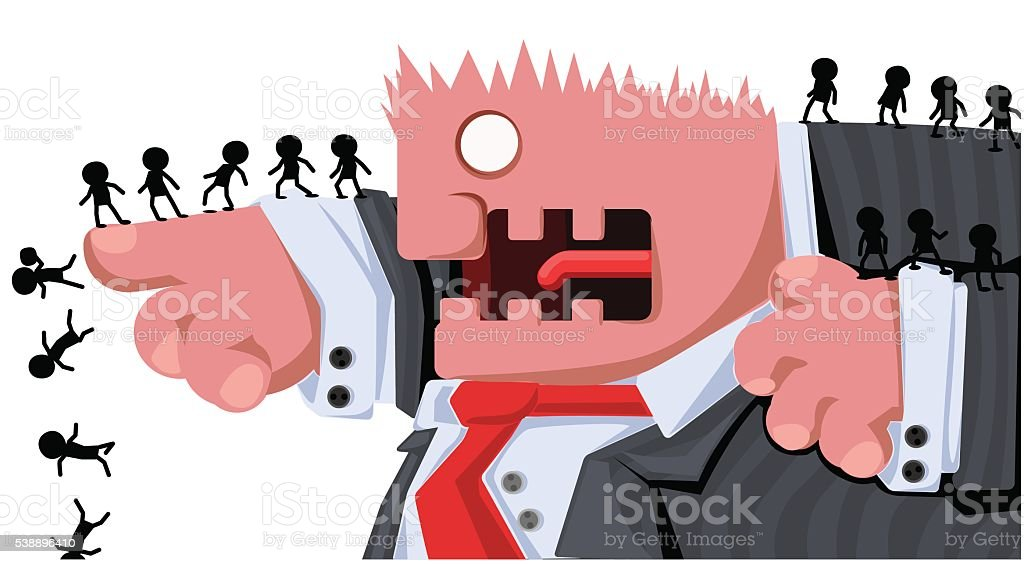 Boss Command vector art illustration