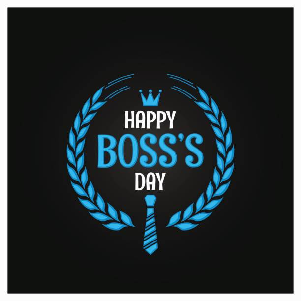 illustrazioni stock, clip art, cartoni animati e icone di tendenza di boss day icon sign design background - luogo d'interesse nazionale